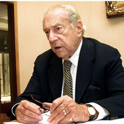 El político chileno Gabriel Valdés Subercaseaux.