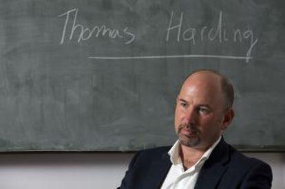 Thomas Harding, en Madrid.
