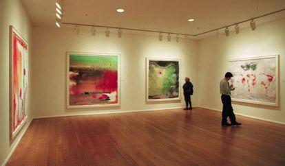 Una de las salas de la galería neoyorquina Knoedler & Company, que cerró en 2011 por las demandas de coleccionistas engañados.
