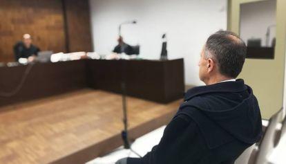 Pedro Varela este jueves durante el juicio.