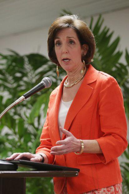 La secretaria de Estado Adjunta de EE.UU. para América de Latina, Roberta Jacobson.
