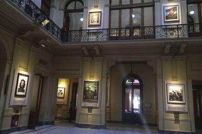 La Galería de los Patriotas Latinoamericanos en la Casa Rosada