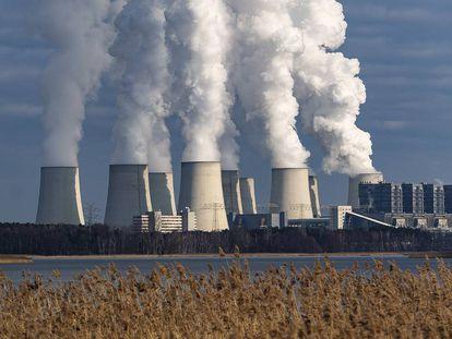 Planta de procesado de carbón mineral  en Alemania.
