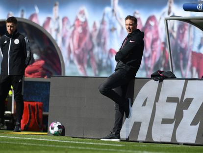 Nagelsmann dirige al Leipzig contra el Stuttgart.