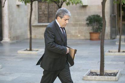 Francesc Homs, portavoz del Gobierno catalán.