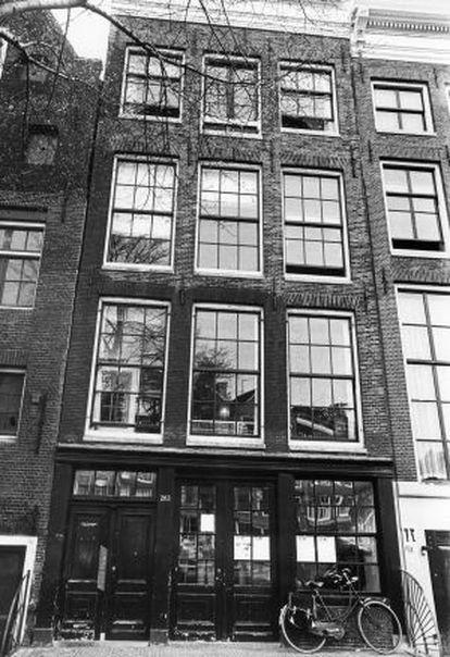El 263 de Prinsengracht, en Ámsterdam, donde se refugió Ana Frank y hoy alberga su Casa Museo.