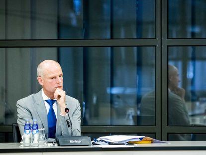 El ministro de Exteriores neerlandés, Stef Blok, en La Haya, el pasado lunes.