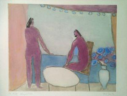 Dos mujeres, de Joy Saville.