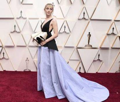 Saoirse Ronan, en los Oscar.