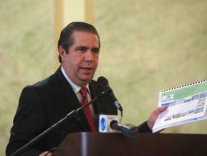 Fotografía tomada el pasado 14 de febrero en la que se registró al ministro de Turismo de República Dominicana, Francisco Javier García, quien dijo que esta iniciativa constituye el inicio de una serie de grandes inversiones que beneficiarán al Polo Turístico 8. EFE/Archivo