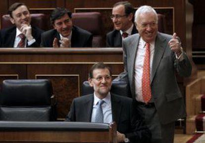 Margallo, el 8 de marzo en el Congreso.