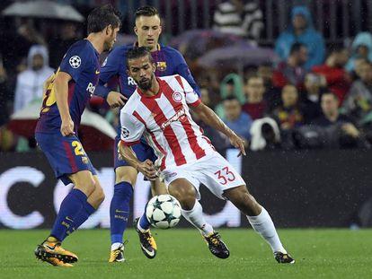Barcelona vs Olympiacos