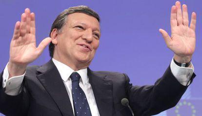 El presidente de la Comisión, José Manuel Durão Barroso.