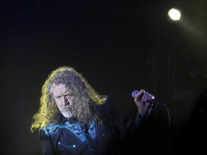 Concierto de Robert Plant en el Festival Cruïlla de Barcelona.