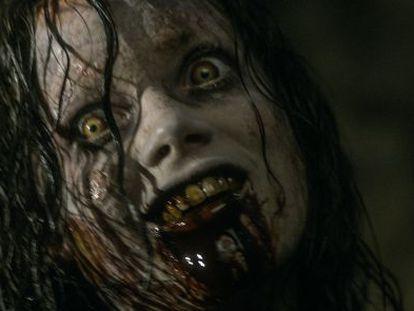 Jane Levy, con el diablo en el cuerpo en 'Posesión infernal'.