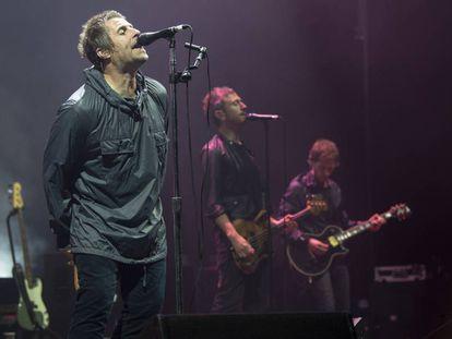 Liam Gallagher, en un concierto en Palafrugell (Girona) el pasado julio.