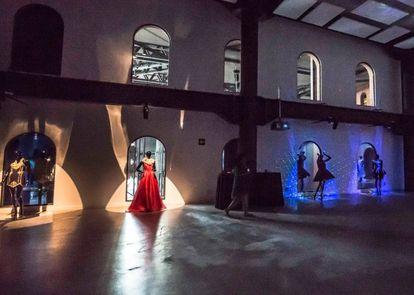 Imagen de una de las exposiciones organizadas por Bilbao Internation Art & Fashion