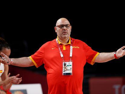 Lucas Mondelo, durante un partido de los Juegos Olímpicos, a finales de julio.