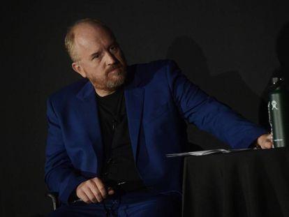 Louis C. K., en el festival de televisión de Tribeca en septiembre de 2017.