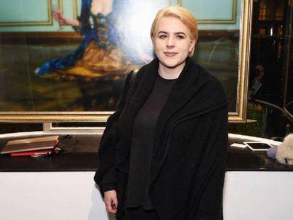 Bella Cruise en una exposición de Londres en febrero de 2016.