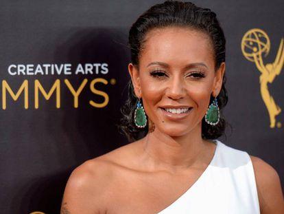 Melanie B en los premios Emmys en 2016.