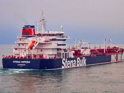 Irán asegura que el petrolero  Stena Impero  chocó con un pesquero y no respondió a la llamada de auxilio