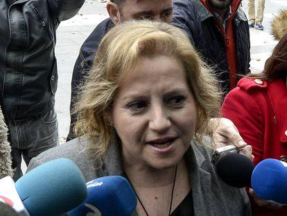 La concejal del PP de Valencia, María Ángeles Ramón-Llin, en una imagen de archivo.