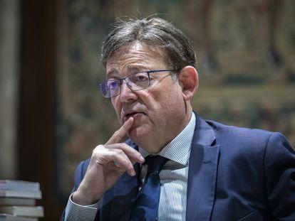 El president de la Generalitat, Ximo Puig, el pasado mes de octubre.