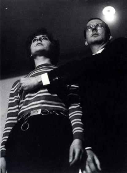 'El caballero de la mano en el Pecho' ( 1967, intervienen Esther Ferrer y Juan Hidalgo)