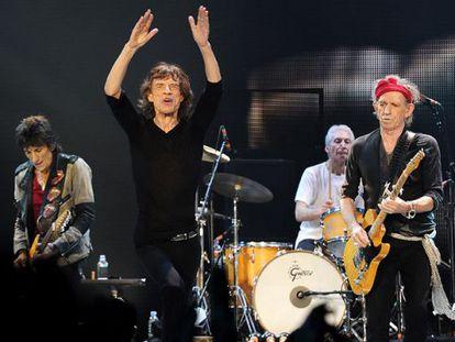 The Rolling Stones visitaron Colombia por primera vez en 2016.