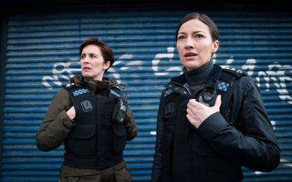 Vicky McClure y Kelly Macdonald, en la sexta temporada de la serie.