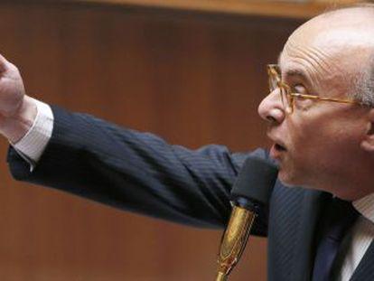 El ministro francés de Hacienda, Bernard Cazeneuve.