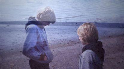 Un adolescente Kurt Cobain en un fotograma del documental 'Cobain: Montage of heck'.