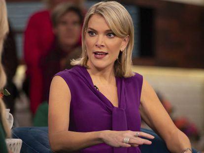 La presentadora Megyn Kelly dirigiendo el programa Today