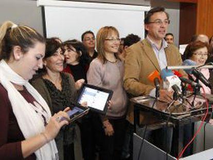 Antonio Quero informa de la reunión de Bases en Red en Sevilla.
