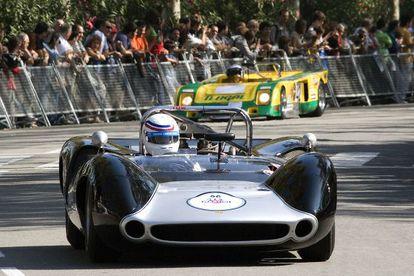 Conmemoración del 75º aniversario del circuito de Montjuïc.