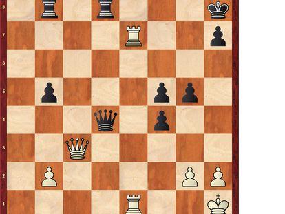 Posición tras 36 …Dd4