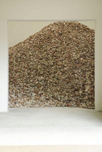 Proyecto que Lara Almarcegui prepara para la Bienal de Venecia.