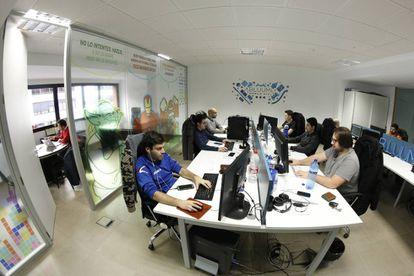 Imagen de las oficinas de Bluumi en Sevilla.