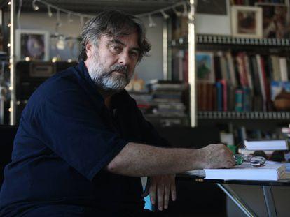Andrés Lima, retratado en su casa el pasado septiembre.