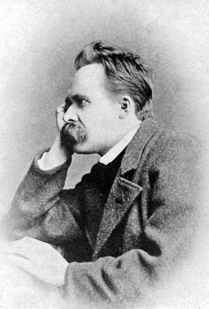 El filósofo Friedrich Nietzsche.