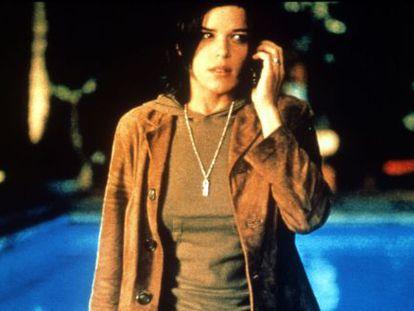 La actriz Neve Campbell, protagonista de 'Scream'.