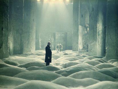 Imagen de la pelicula 'Stalker' (1979), de Andréi Tarkovski.