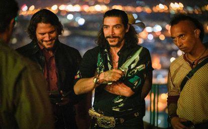 Sergio Peris-Mencheta y Óscar Jaenada, los villanos 'Rambo: Last Blood' (2019).