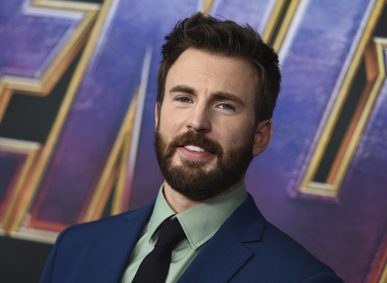El actor Chris Evans en el estreno de 'Vengadores: Endgame', en Los Ángeles en abril de 2019.