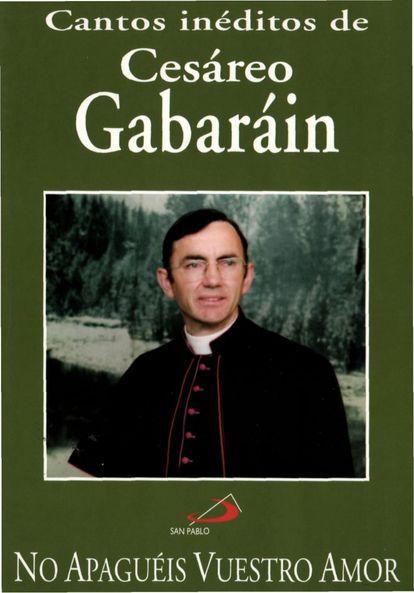 Cesáreo Gabaráin en la portada de uno de sus trabajos grabados en cinta de casete.
