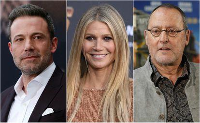 Ben Affleck, Gwyneth Paltrow y Jean Reno.