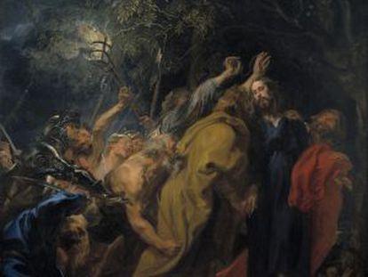 'El prendimiento de Cristo', obra que forma parte de la exposición El joven Van Dyck, a partir del 20 de noviembre en el Museo del Prado.