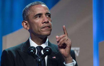 Barack Obama, el sábado en Washington.