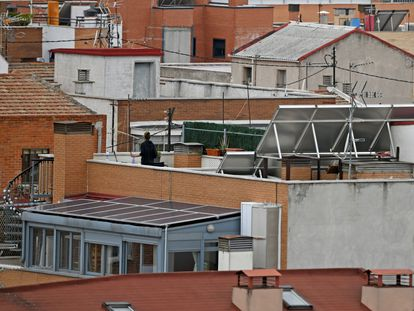 Azoteas en Madrid.